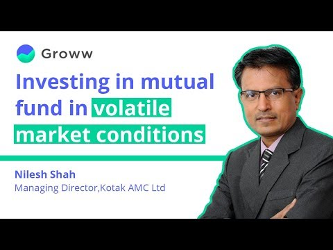 Investing In Mutual Funds In Volatile Markets With Nilesh Shah | Groww Mutual Fund Talk