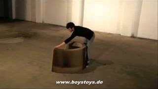 Das Geilste Sofa Der Welt! Flexiblelove - Recyling Lifestyle Loungemöbel Aus Papier