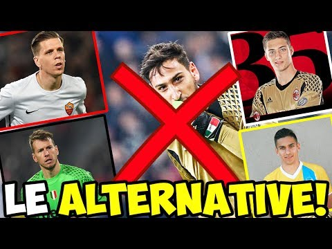 TUTTE LE ALTERNATIVE DEL MILAN A DONNARUMMA