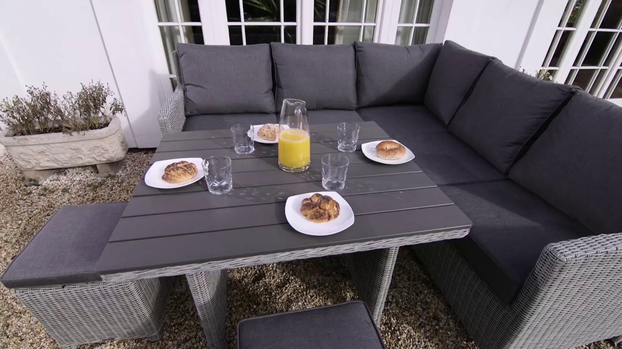 palma mini set casual dining garden furniture kettler