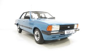 Probably The Best Mk5 Ford Cortina Crusader With An Amazing 7,004 Miles. £8,495