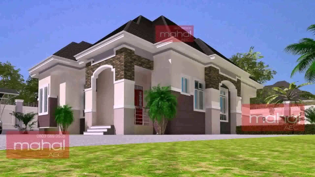 6 bedroom duplex house plans in nigeria youtube for Modern duplex house plans in nigeria