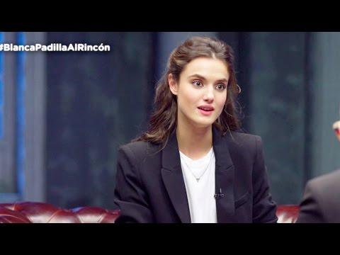 """Blanca Padilla: """"Las modelos experimentadas son las más amables"""" - Al Rincón"""