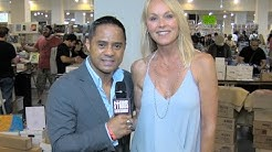 DARLENE VOGEL w/ TYRONE TANN - L.A. Comic Book & Science Fiction Convention