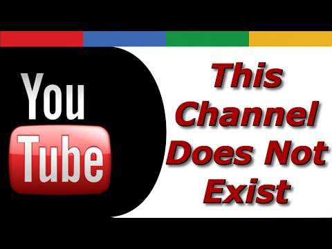 How to Fix When YouTube Says This Channel Does Not Exist