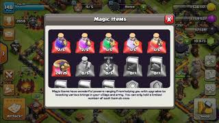 #4 24 wall ring= 12 level 11 walls | clash of clans|