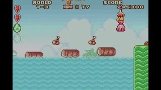 Super Mario Advance: Super Mario Bros. 2: 1-3 ALL MUSHROOMS, ACE COINS & YOSHI EGGS - No Commentary