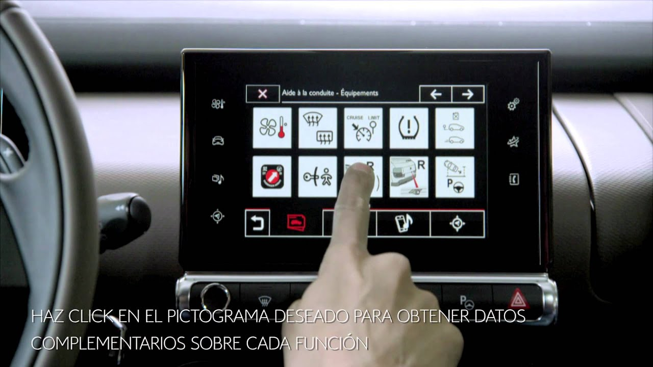 Citroën - C4 Cactus - Manual de Usuario Tableta Táctil ...