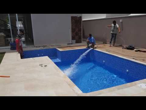 Como Construir Uma Piscina De Vinil Youtube
