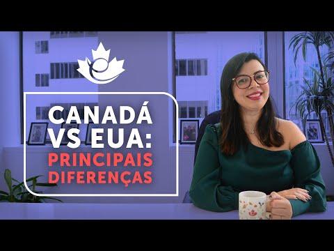 PRINCIPAIS DIFERENÇAS ENTRE CANADÁ E ESTADOS UNIDOS | POR QUE O CANADÁ É O MELHOR PAÍS PARA IMIGRAR