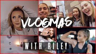 VLOGMAS DAYS 5-11 | friends, coffee & SNOW