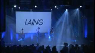 """LAING @TEDDY AWARD 2013 performing """"Morgens Immer Müde"""""""