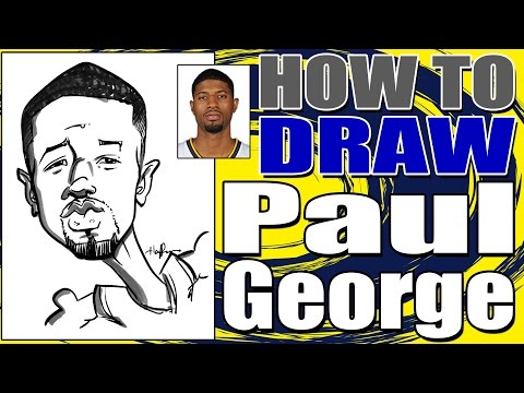 How To Draw A Quick Caricature Paul George