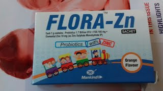 FLORA ~ZN SACHET 1g use and side effect full hindi reviews company Mankind pharama L.td