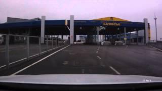 видео Из Украины в Крым. граница, прохождение таможни.июнь 2016