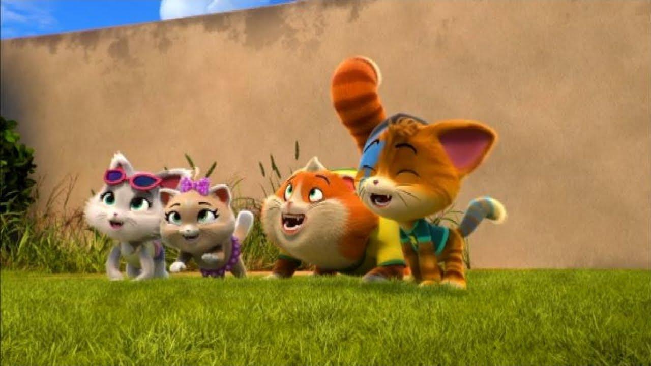 Arriva 44 gatti la nuova serie animata del pap delle for Cip e ciop immagini da colorare