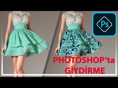 Photoshop Ile Kırışık Kumaşa Desen Nasıl Giydirilir? Photoshop'ta Giydirme / Yusuf PEHLİVAN