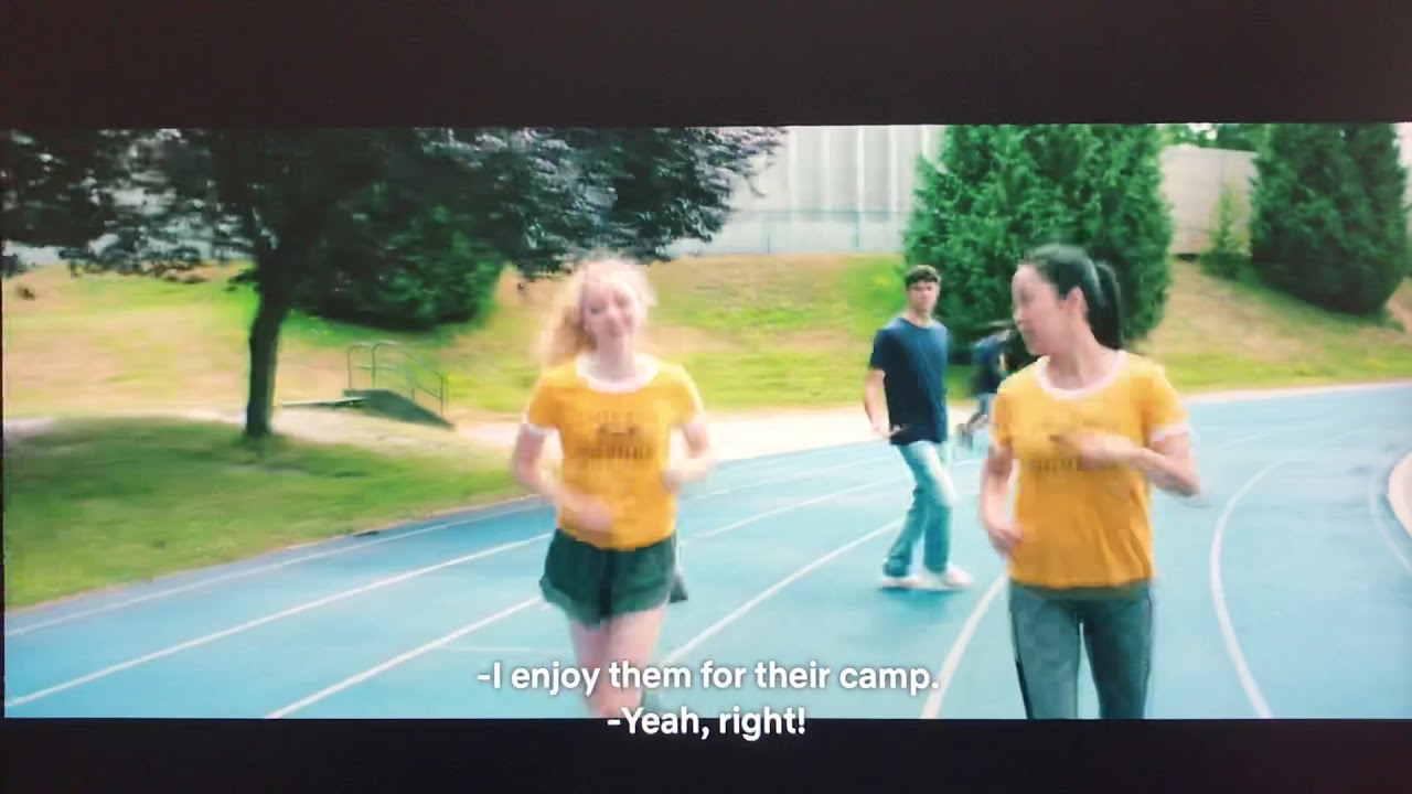 Download To All the Boys I've Loved Before (2018) - First Kiss/Track and Field Scene