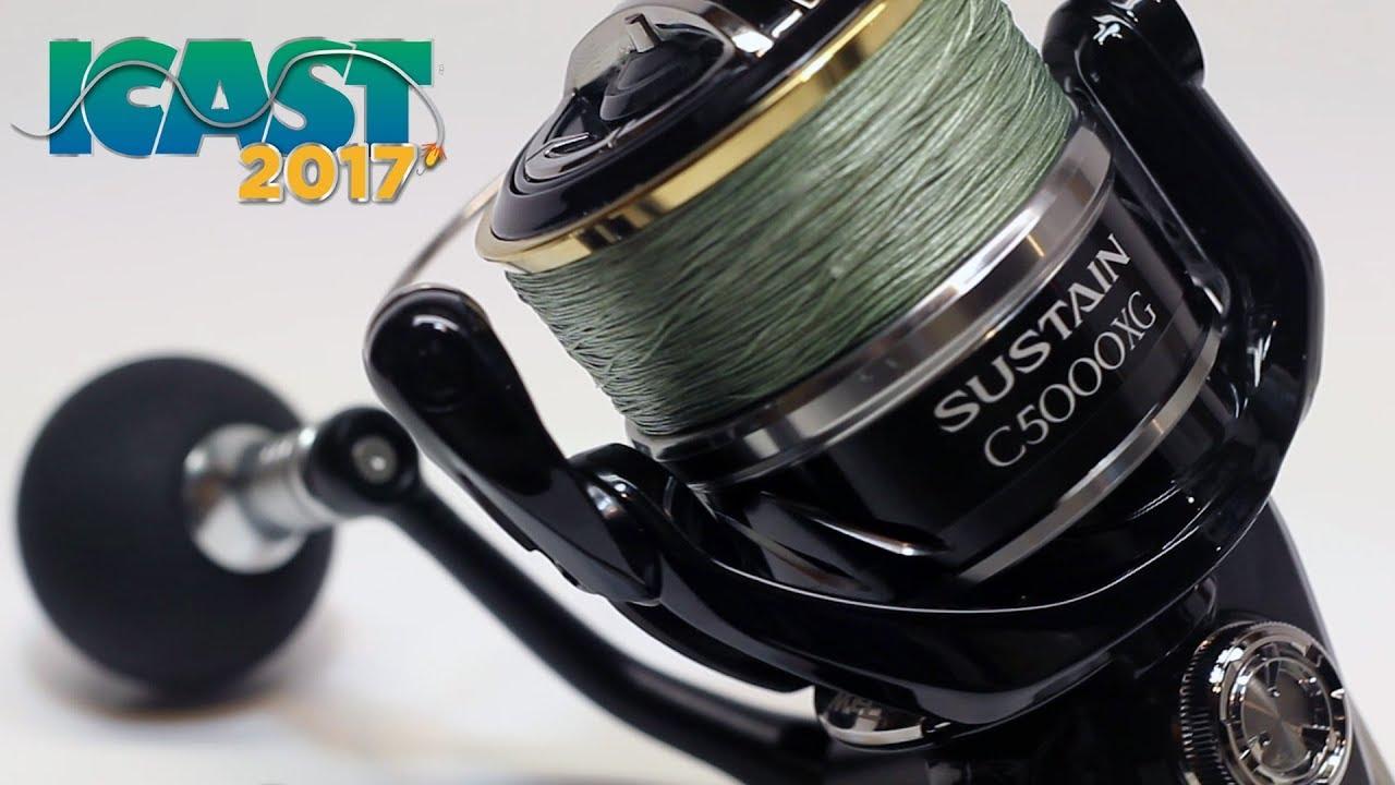 ICAST 2017 Winner! Best Saltwater Reel | Shimano Sustain SAC5000XGFI  Overview