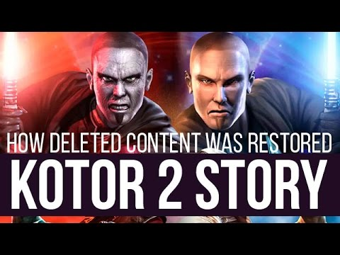 KOTOR 2 modding story - how deleted content was restored