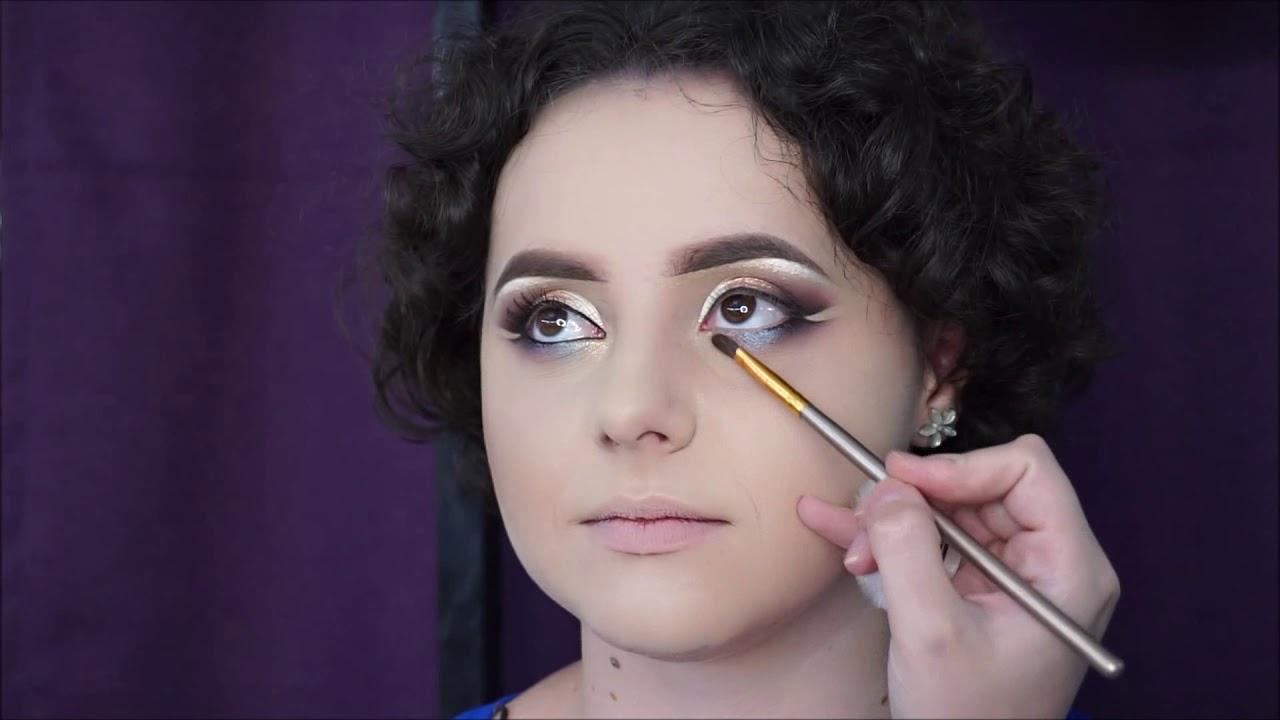 Eyeliner Gel Pencil Technique Makeup Youtube