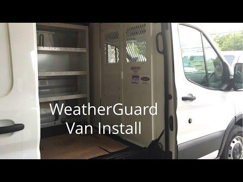 WeatherGuard Van Install Demo
