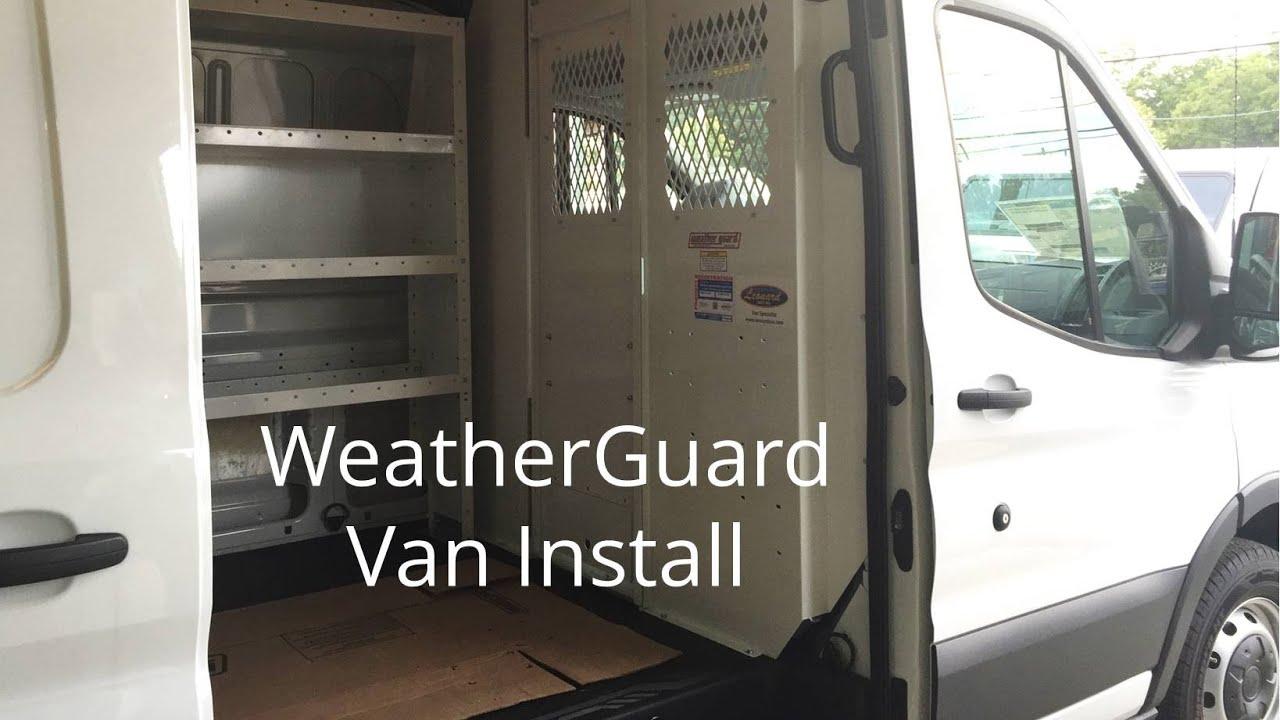 Weatherguard Van Install Demo Youtube