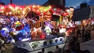 新庄宵祭り2017 新松本町若連1