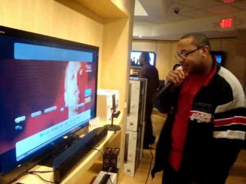 Singstar at the Sony Store, Lenox Mall Buckhead G.A.