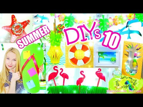 10 DIY Summer Room Decor Ideas – Easy and Beautiful Room Decorations for Summer