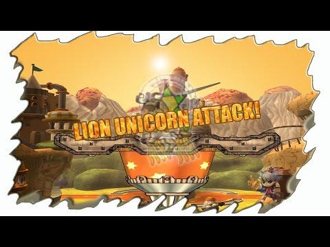 ◄ Gunbound Latino ► Lion unicorn attack!