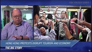 THE BIG STORY: Hong Kong protests affecting tourism and economy (05/08/19)