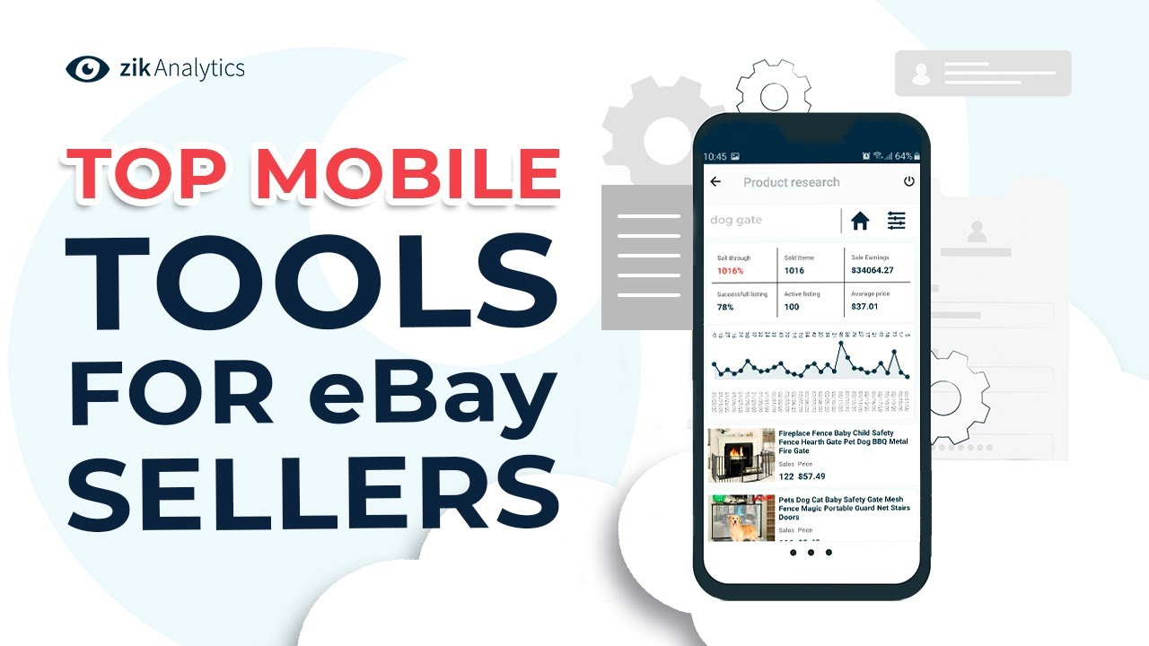 These Mobile Tools For Ebay Sellers Can Find Best Selling Items On Ebay Youtube