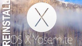 How to Reinstall Mac OS X Yosemite