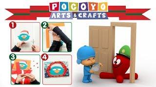 Pocoyo Arts & Crafts: Tarjeta De Felicitación | Navidad