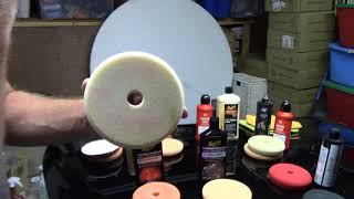 What Pads Go With What Compounds Or Polish - Help For Beginners