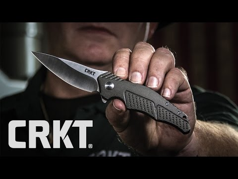 CRKT 1033 Wooden Folding Knife Kit video_1