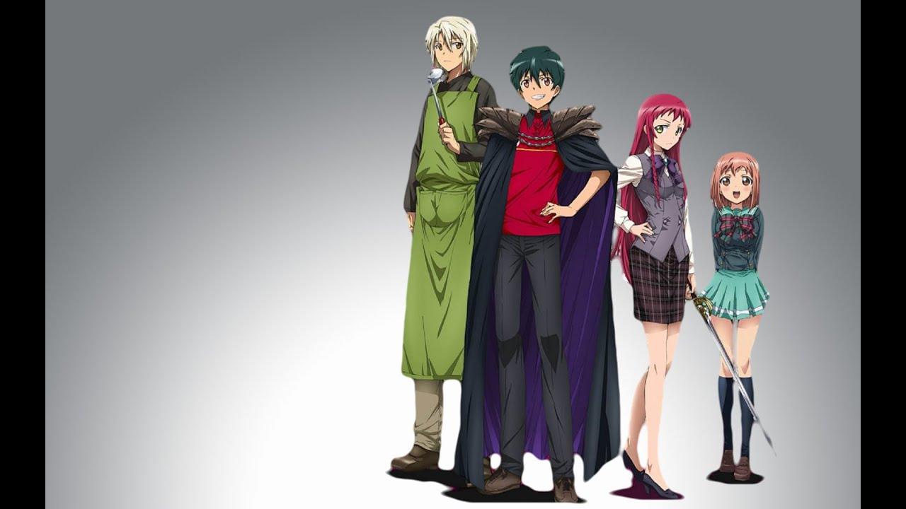 GR Anime Review The Devil Is A Part Timer Hataraku Maou Sama