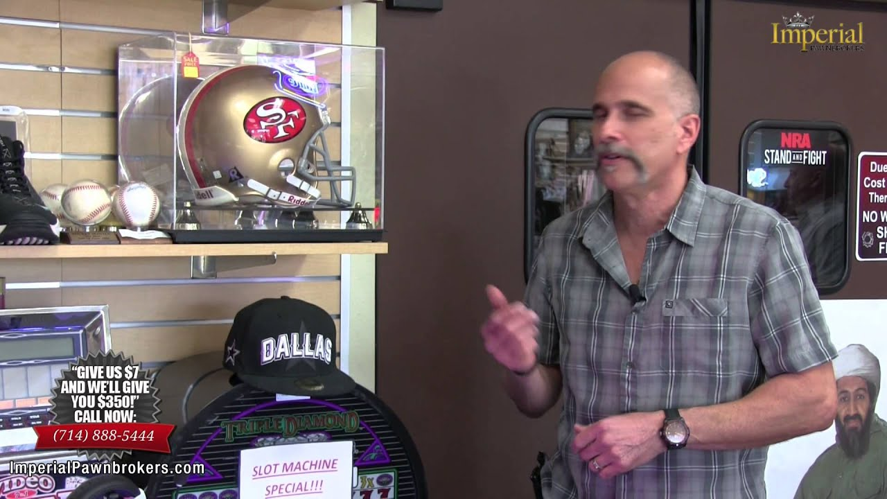 newest d188e 34939 49ers Sports Memorabilia at this Orange County Pawn Shop