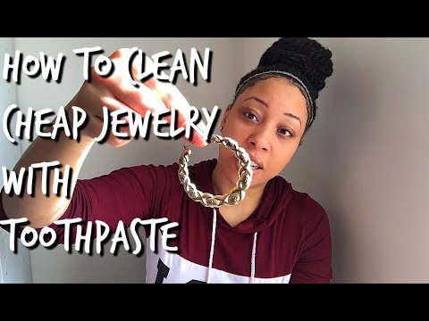 How To Clean Cheap Jewelry With Toothpaste (309)