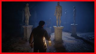 Red Dead Redemption 2 - How To Solve The Strange Statues Puzzle - Fast & Easy Money - HUGE REWARD! Video