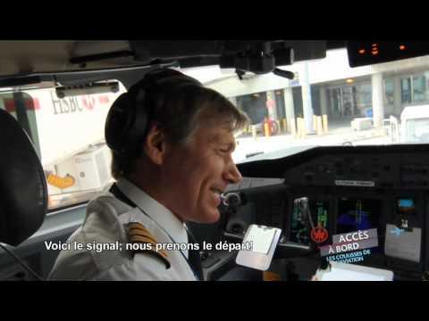 Accès à bord d'Air Canada : Dans le poste de pilotage