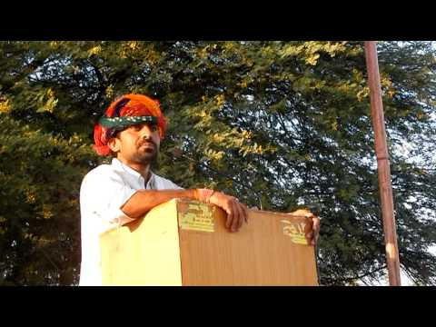 Manish Yadav aam Jansabha Khejroli