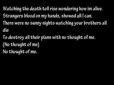 avenged sevenfold - M.I.A lyrics. @ariefchanderiya