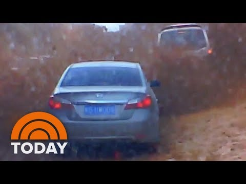 Massive Mudslide In China Caught On Camera | TODAY