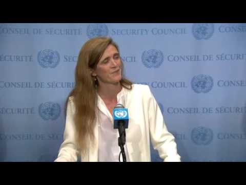 Samantha Power on US Airstrike on Syrian Regime Forces