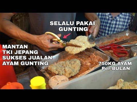 MANTAN TKI JEPANG, SUKSES JUAL AYAM GUNTING DI PASAR MALAM.