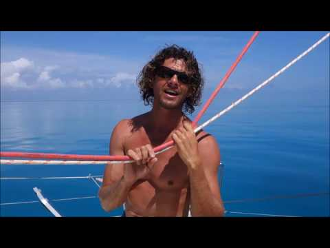 Sailing into Freedom - Episode 27 On the reef and up the mast