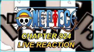 One Piece Chapter 924 Live Reaction - THE FIRST ACT IS OVER!!! ワンピース