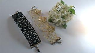 Lace Bracelet Tutorial (DIY)
